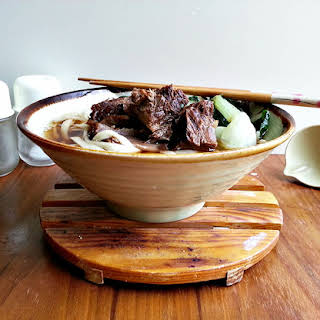 Chinese Braised Beef Stew Noodles.