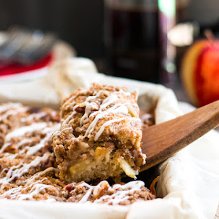 Gluten Free Apple Coffee Cake with Pecans