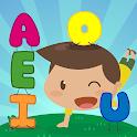 Aprender las vocales para niños de 3 a 5 años icon