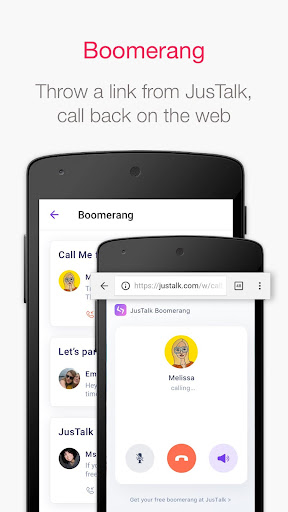 JusTalk - Free Video Calls and Fun Video Chat  screenshots 7