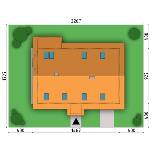 D83 - Martyna wersja drewniana - Sytuacja