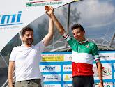 Davide Formolo rondde op indrukwekkende wijze een solo van 60 km af in de Dauphiné