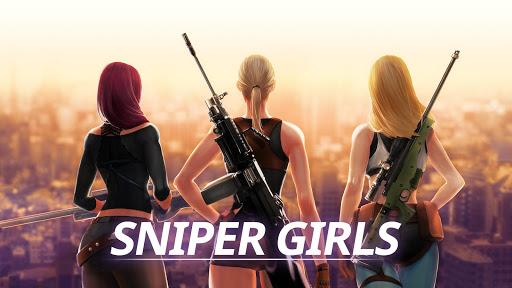 Télécharger Sniper Girls - 3D Gun Shooting FPS Game APK MOD (Astuce) screenshots 1