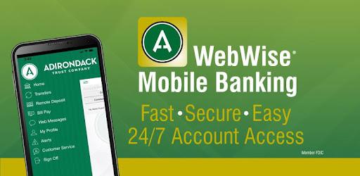 adirondack trust webwise banking