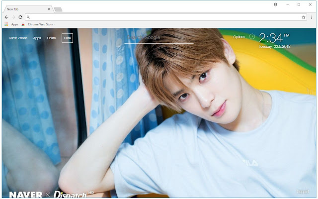 Kpop NCT HD Wallpaper NCT New Tab