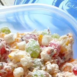 Fruit Ambrosia Salad With Sour Cream Recipes.