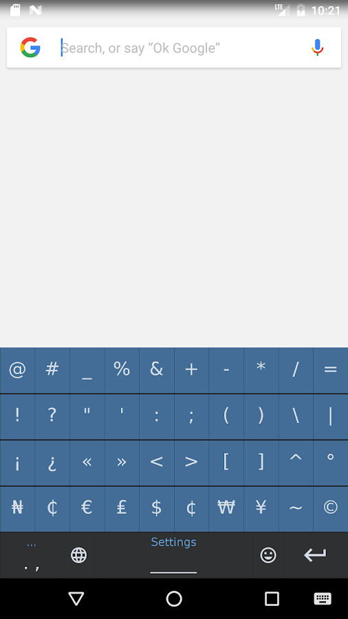South American Native Keyboard- screenshot