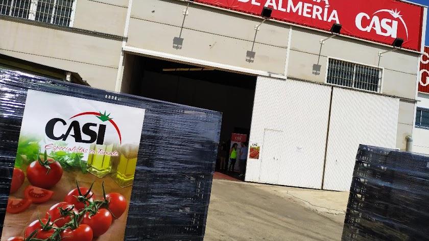 Instalaciones de CASI en Alhama de Almería.