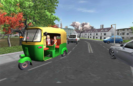 運転 シティ トゥクトゥク トゥクトゥク 人力車