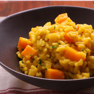 Squash and Saffron Risotto