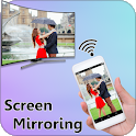 Screen Mirroring Display Mobile Screen On TV icon