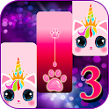 Cat Unicorn Piano Tiles 2019 icon