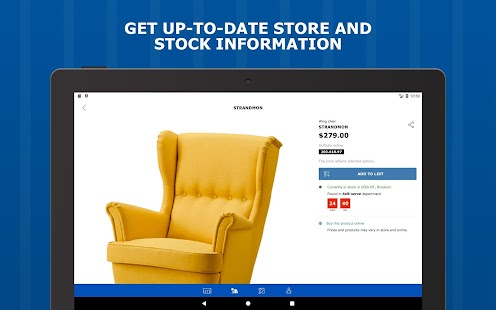 IKEA Store- screenshot thumbnail
