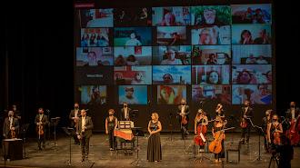 Imagen del concierto de la OCAL.