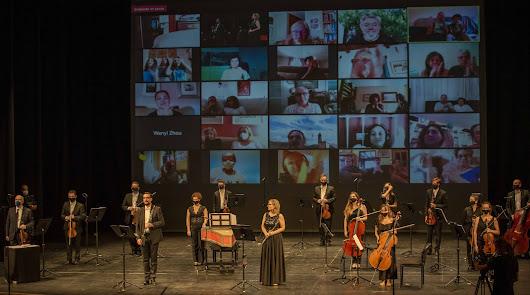 Un concierto histórico: la OCAL es la primera orquesta en tocar tras la pandemia