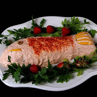Smoked Salmon Mousse in Mold