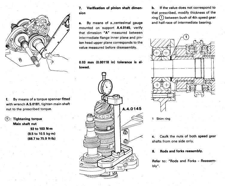 gearbox assembly question
