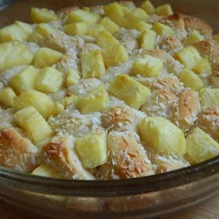 Pineapple Coconut Breakfast Pie