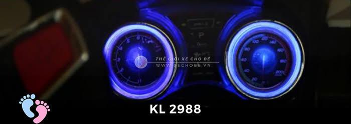 Xe ô tô điện địa hình trẻ em KL-2988 19