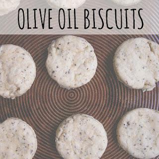 Black Pepper + Basil Olive Oil Biscuits