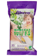 Libero Hand & Face Wipes 20 stk