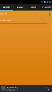 Mp3 Audio Player screenshot 3