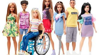 Así son las nuevas muñecas de Mattel. / Barbie