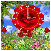 Flower Clock Wallpapers HD