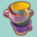 かさねたティーカップ