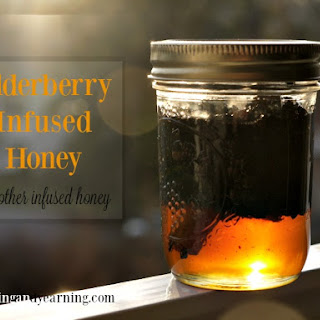 Elderberry Infused Honey