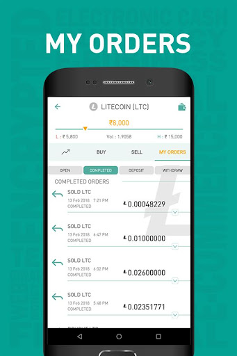 Unocoin Crypto Asset Exchange 2.3.8 screenshots 6
