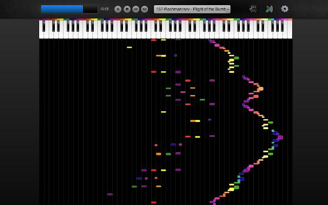 Color Piano Chrome Web Store