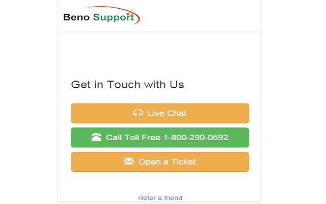 BenoSupport Quick Support