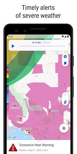 NOAA Weather Radar Live & Alerts screenshot 2