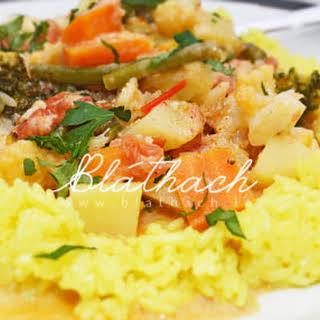 Mild Vegetable Curry (Korma).