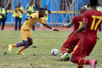 Photo: Michel Rusheshangoga (2)  [Rwanda Vs Ghana AFCON2017 Qualifier, 5 Sep 2015 in Kigali, Rwanda.  Photo © Darren McKinstry 2015