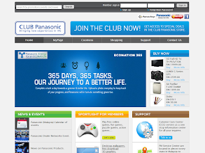Photo: Club Panasonic, http://club.panasonic.com.my/ Implemented by: Greenwave Technology Sdn Bhd