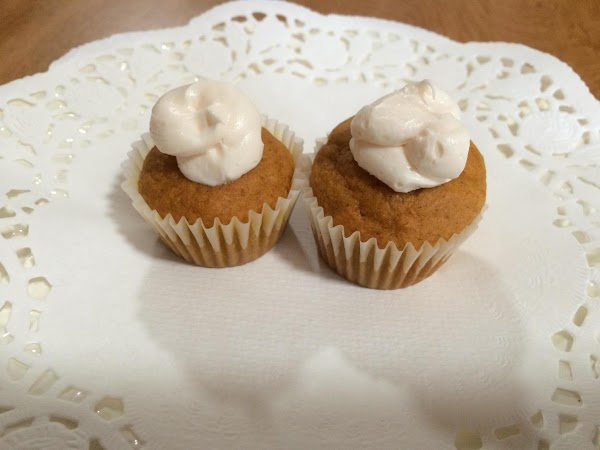 Mix all ingredients with mixer.  Line mini muffin cups with cupcake papers. ...