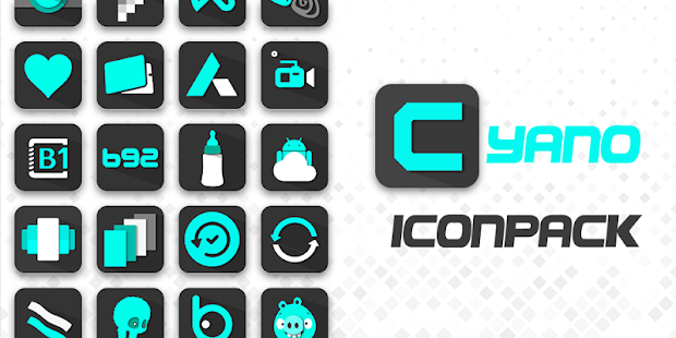 Cyano - Icon pack Screenshot