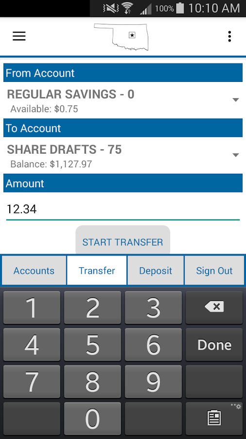 COFCU Mobile Banking- screenshot
