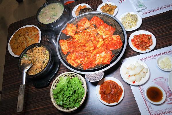 南大門韓國烤肉│林森北條通美食│老牌韓國烤肉,辣烤豬五花與海鮮煎餅超棒