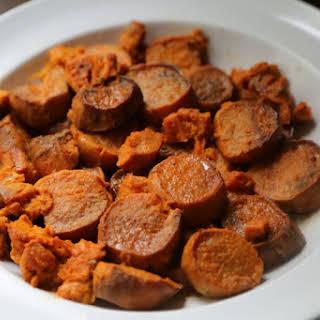 Crock Pot Candied Sweet Potatoes.