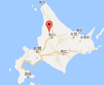 地図:幌加内町