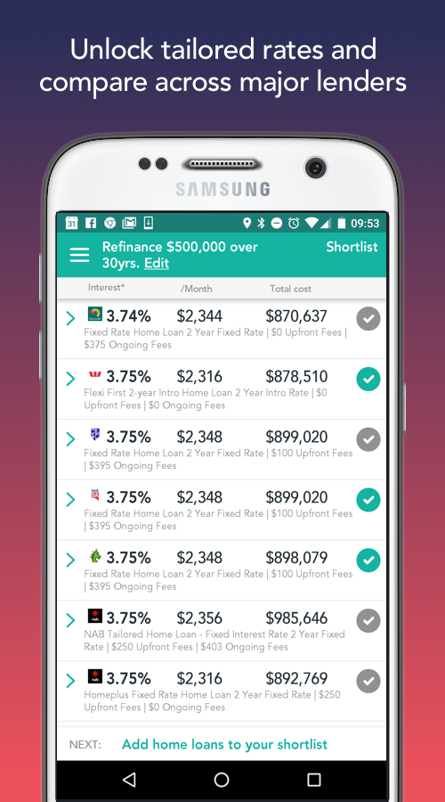 uno Home Loans- screenshot