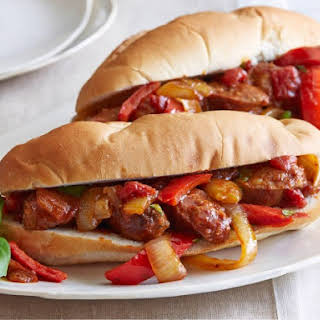 Sausage, Peppers and Onions.