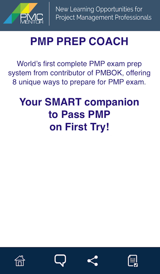 PMP PREP COACH- screenshot