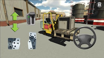 Screenshot of Forklift Sim 3D
