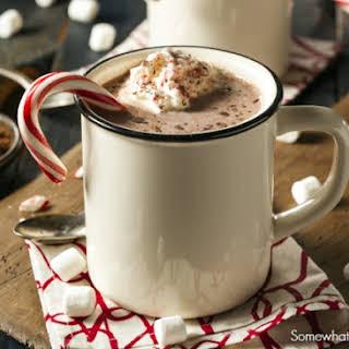 Hot Cocoa Milk Shake.