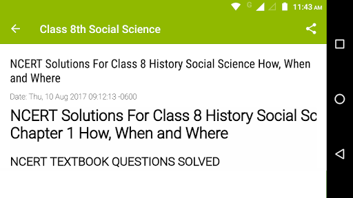 8th Social Science NCERT 0.2 screenshots 4