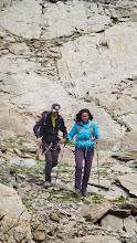 Photo: Arrivée de nos 2 supers grimpeurs!
